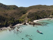 nature Corse, locations sur la plage
